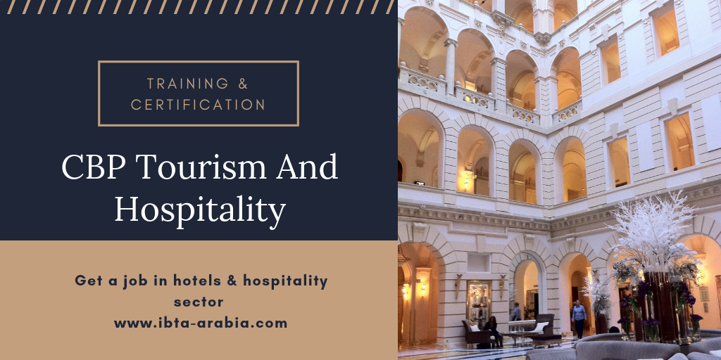 Cbp Tourism And Hospitality Track Learning Solutions Ibta Arabia