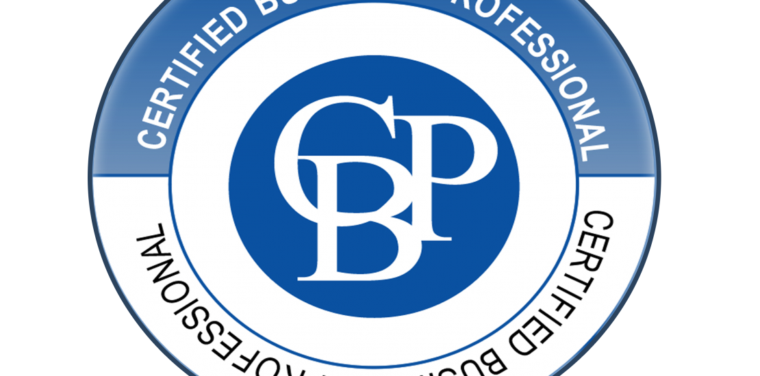 Certified Business Professional Logo (CBP)