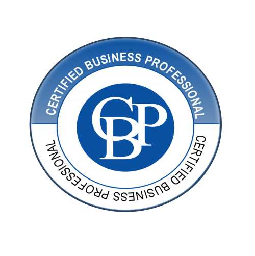 Certified Business Professional Logo (CBP)